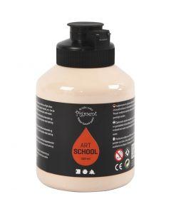 Pigment Art School, peittävä, vaalea ihonväri, 500 ml/ 1 pll