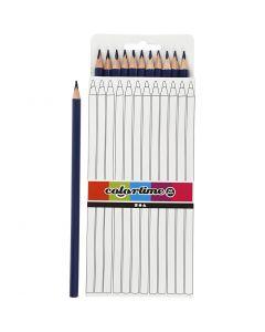 Colortime-värikynät, Pit. 17 cm, kärki 3 mm, tummansininen, 12 kpl/ 1 pkk