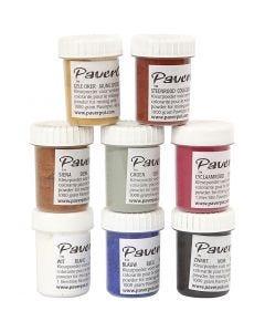 Pavercolor, 8x40 ml/ 1 pkk