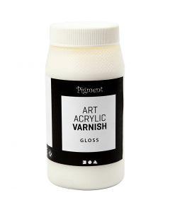 Art Acrylic vernissa, matt, kirkas, valkoinen, 500 ml/ 1 tb