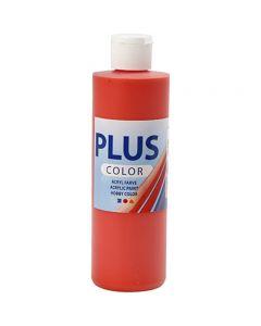 Plus Color- askartelumaali, briljantin punainen, 250 ml/ 1 pll