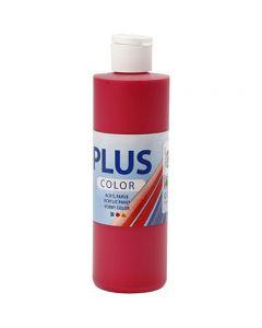Plus Color- askartelumaali, marjanpunainen, 250 ml/ 1 pll