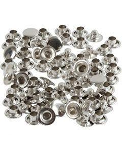 Niitit, halk. 7 mm, hopea, 50 kpl/ 1 pkk