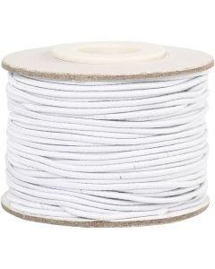 Kumilanka, paksuus 1 mm, valkoinen, 25 m/ 1 rll