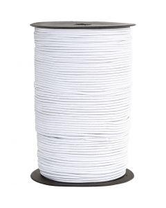 Kumilanka, paksuus 2 mm, valkoinen, 250 m/ 1 rll