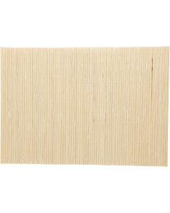 Bambumatto, koko 45x30 cm, 4 kpl/ 1 pkk