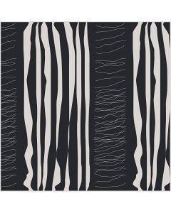 Puuvillakangas, Lev: 145 cm, 140 g, musta, 1 jm