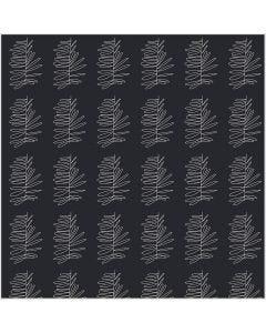 Puuvillakangas, Lev: 145 cm, 140 g, tummanharmaa, 1 jm