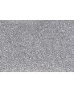 Silityskalvo, 148x210 mm, kimalle, hopea, 1 ark