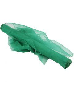 Organza, Lev: 50 cm, vihreä, 10 m/ 1 rll