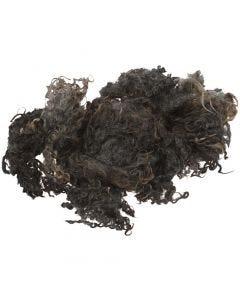 Kihara luonnonvilla, tummanharmaa, 100 g/ 1 kerä