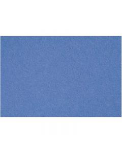 Askarteluhuopa, 42x60 cm, paksuus 3 mm, sininen, 1 ark