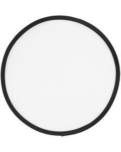 Frisbee, halk. 25 cm, valkoinen, 1 kpl