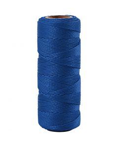 Bambulankaa, paksuus 1 mm, sininen, 65 m/ 1 rll