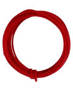 Juuttinaru, paksuus 2-4 mm, punainen, 3 m/ 1 pkk