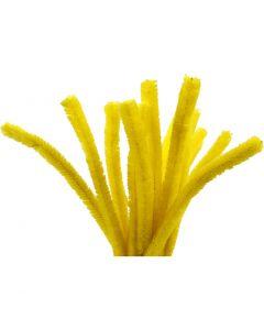 Askartelupunokset, Pit. 30 cm, paksuus 15 mm, keltainen, 15 kpl/ 1 pkk