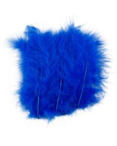 Höyhenet, koko 5-12 cm, sininen, 15 kpl/ 1 pkk