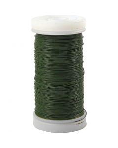 Kukkalanka, paksuus 0,31 mm, 100 g, vihreä, 160 m/ 1 rll
