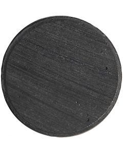 Magneettinappi, halk. 20 mm, paksuus 3 mm, 50 kpl/ 1 pkk