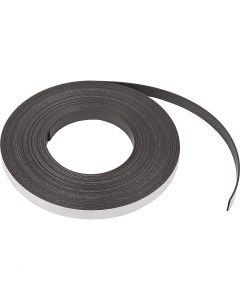 Magneettinauha, Lev: 12,5 mm, paksuus 1,5 mm, 10 m/ 1 pkk