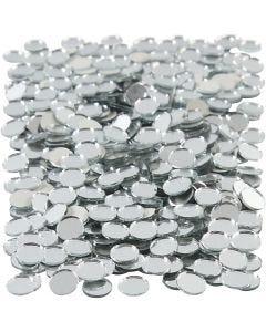 Peilimosaiikit, pyöreät, halk. 10 mm, 500 kpl/ 1 pkk