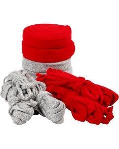 Kudosputki, Lev: 10-40 mm, harmaa, punainen, 50 m/ 1 pkk