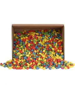 Mosaiikki, koko 8-10 mm, vahvat värit, 2 kg/ 1 pkk