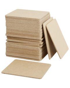 Lasinalusta, koko 10x10 cm, 50 kpl/ 1 pkk