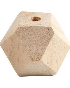 Timanttihelmi, Lev: 43 mm, aukon koko 8 mm, 3 kpl/ 1 pkk