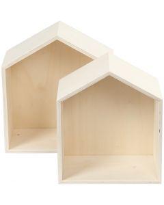 Säilytyslaatikot, Kork. 22,5+25 cm, Lev: 19,5+22,5 cm, 2 kpl/ 1 set