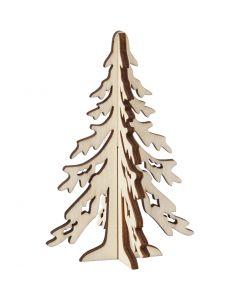 Kuusipuu, Kork. 12,5 cm, Lev: 8,5 cm, 1 kpl