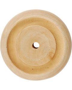 Puupyörä, halk. 42 mm, 4 kpl/ 1 pkk