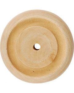 Puupyörä, halk. 42x11 mm, 40 kpl/ 1 pkk