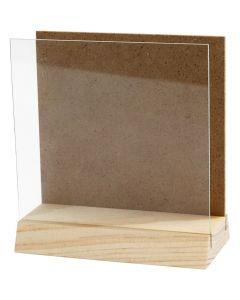 Taulupidike, koko 10x10 cm, 1 set