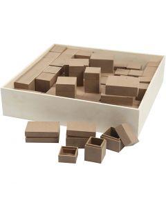 Puurasiat, Kork. 2,5-5 cm, 4x15 kpl/ 1 pkk