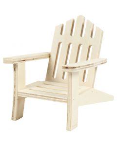 Puutarhatuoli, Kork. 9 cm, Lev: 7,5 cm, 1 kpl