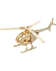 3D-palapeli, helikopteri, koko 26,5x14x26 cm, 1 kpl