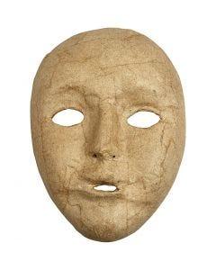 Pahvinaamio, Kork. 17,5 cm, Lev: 12,5 cm, 1 kpl