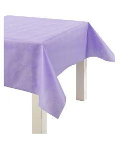 Pöytäliina kangasjäljitelmää, Lev: 125 cm, 70 g, violetti, 10 m/ 1 rll