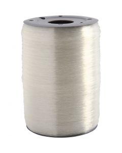 Elastinen korulanka, pyöreä, paksuus 0,5 mm, 1000 m/ 1 rll