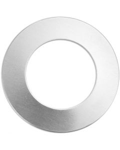Metallilaatta, rengas, halk. 32 mm, aukon koko 19,32 mm, paksuus 1,3 mm, alumiini, 9 kpl/ 1 pkk