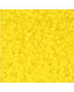 Putki, halk. 1,7 mm, koko 15/0 , aukon koko 0,5 mm, kuulto keltainen, 500 g/ 1 pss