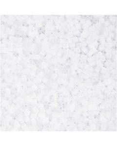Putki, halk. 1,7 mm, koko 15/0 , aukon koko 0,5 mm, valkoinen, 500 g/ 1 pss