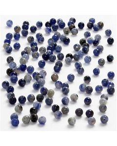 Kivihelmi, halk. 3 mm, aukon koko 0,5-0,7 mm, sininen, 120 kpl/ 1 pkk