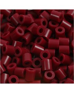 Putkihelmet, koko 5x5 mm, aukon koko 2,5 mm, medium, viininpunainen (32239), 1100 kpl/ 1 pkk