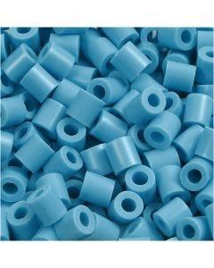 Putkihelmet, koko 5x5 mm, aukon koko 2,5 mm, medium, turkoosi (32256), 6000 kpl/ 1 pkk