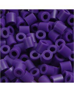 Putkihelmet, koko 5x5 mm, aukon koko 2,5 mm, medium, tumma lila (32234), 1100 kpl/ 1 pkk