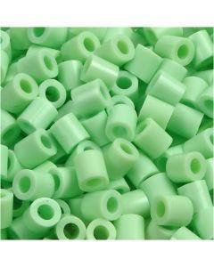 Putkihelmet, koko 5x5 mm, aukon koko 2,5 mm, medium, vihr.pastelli (32252), 1100 kpl/ 1 pkk