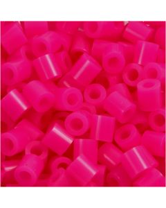 Putkihelmet, koko 5x5 mm, aukon koko 2,5 mm, medium, kirsikka (32258), 6000 kpl/ 1 pkk