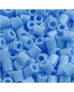Putkihelmet, koko 5x5 mm, aukon koko 2,5 mm, medium, sin.pastelli (32224), 6000 kpl/ 1 pkk